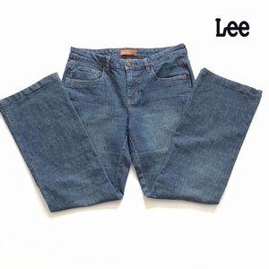 Lee One True Fit  flare legs Sz 7-8